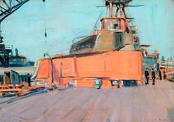 The Quarter-Deck of a Battleship