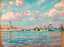 Ships in No. 1 Basin