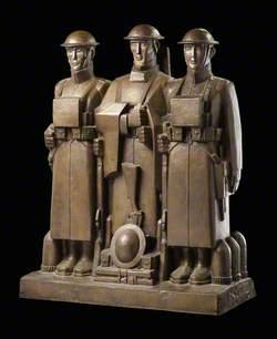 Soissons Memorial Maquette