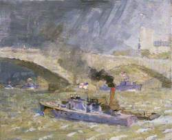 Wartime Traffic on the River Thames: Upriver Repairs after the Dieppe Raid