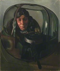 An Air Gunner in a Gun Turret: Sergeant G. Holmes, DFM