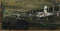 43 Repair Group, Air Frame Repair Service, Lincoln: Repairing Liberator Aircraft