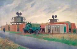 An 'OBOE/9000' Ground Radar Station