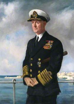 Admiral of the Fleet the Viscount Cunningham of Hyndhope (1883–1963), KT, GCB, DSO