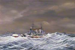 Distant Escort: The Cruisers HMS 'Sheffield' and HMS 'Jamaica' with the Battleship HMS 'Duke of York' Patrol the Convoy Route to Russia