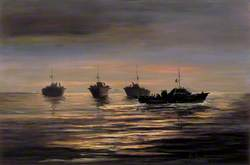 Listening: Motor Torpedo Boats of the Coastal Forces off the Enemy Coast