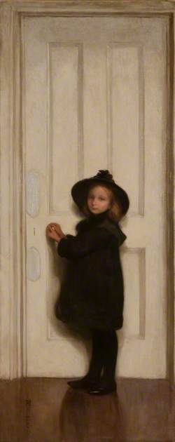 The Little Girl at the Door