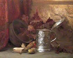Still Life with a Tankard and Bananas