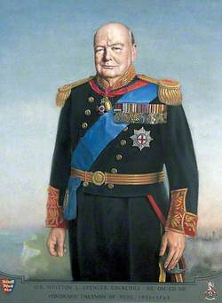 Winston Churchill (1874–1965), Lord Warden of the Cinque Ports