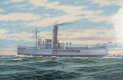 HMS 'Daffodil' after Zeebrugge
