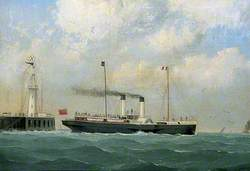 'Mary Beatrice' Leaving Boulogne