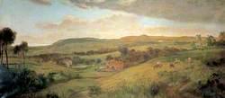 Landscape Near Folkestone, Kent
