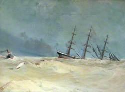 Sinking of the 'Bienvenue'