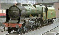 The 'Royal Engineer' Locomotive