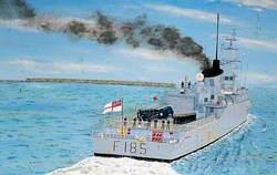 HMS 'Avenger'
