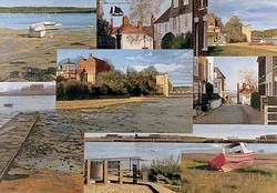 Upper Upnor on the River Medway