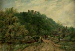 Wooded Landscape with the Ruins of a Castle