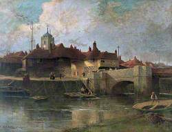 Barbican and River Stour, Sandwich, Kent