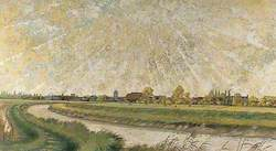 Panoramic View of Sandwich, Kent