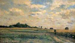 Rural Landscape with Figures in the Foreground