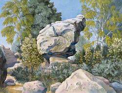 The Toad Rock, Rusthall Common, Kent