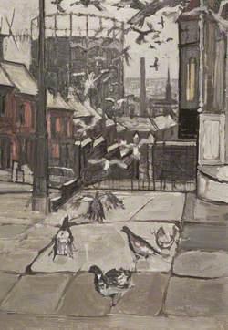 Junction of Saunders Road and Downham Street, Blackburn