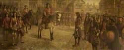 Surrender of the Rebel Stuart Forces at Preston in 1715