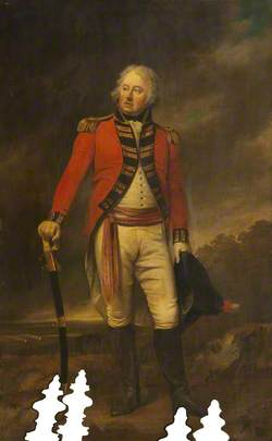 Colonel Thomas Stanley, MP, 1st Royal Lancashire Militia