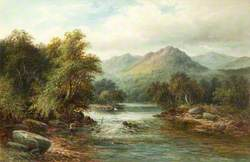 On the River Dee, North Wales