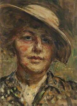 Self Portrait in a Sun Hat