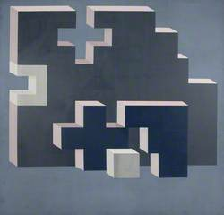 Blue Cross and Grey Block