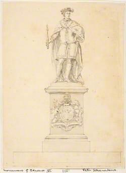 Design for a Statue of Edward VI
