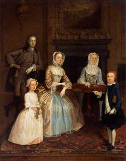 Mr and Mrs Richard Bull and Family