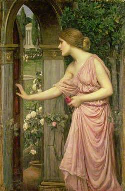Psyche Entering Cupid's Garden