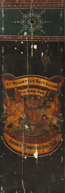 Drum Shell, 1st Volunteer Battalion, King's Own Royal Lancaster Regiment (1883–1901)
