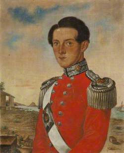 Captain Thomas Hinde Thompson, 1st Royal Lancashire Militia, 1855