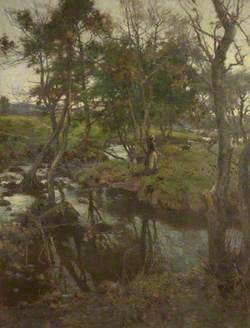Evensong: the Brook at Halton Green