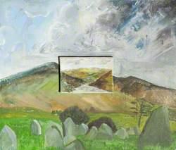 Graveyard with Hills