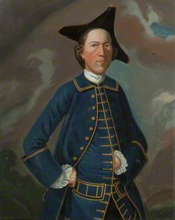 Squire John ffrance (1727–1817) of Rawcliffe Hall, Lancashire