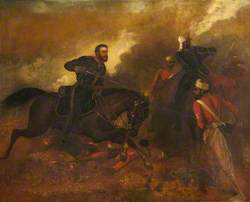 Major James Leith Winning the Victoria Cross