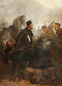 Private John McDermond, 47th Regiment of Foot, Winning the Victoria Cross, Battle of Inkerman, 5 November 1854