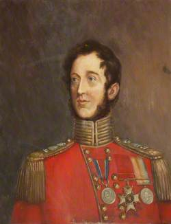 Lieutenant Colonel George Hibbert, CB, 40th Foot, Who Served as an Ensign at Waterloo, and Commanded the Regiment (1845–1847)