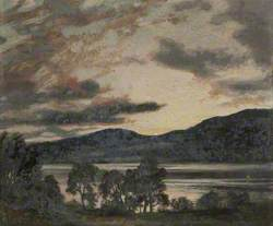 Evening View over Coniston Lake
