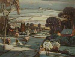 Brindle Village: Winter