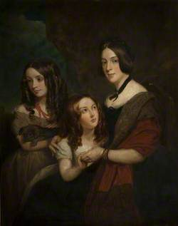 Lady Caroline Towneley with Two of Her Daughters, Caroline and Emily
