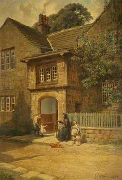 The Porch, Spenser's Cottage, Hurstwood