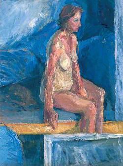 Figure Study of a Woman