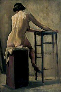 Female Figure Seated on a Stool