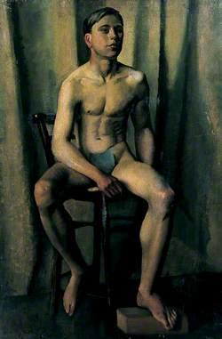 Male Figure Seated
