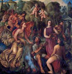 Bacchanal: A Group of Classical Figures